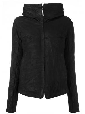 Куртка-пуховик на молнии с капюшоном Isaac Sellam Experience. Цвет: чёрный