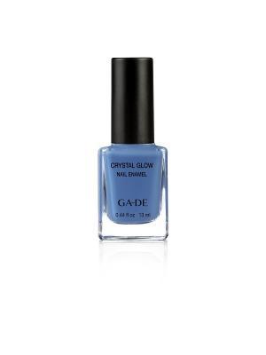 Лак для ногтей №.521 ARCTIC BLUE GA-DE. Цвет: голубой