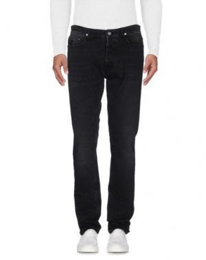 Джинсовые брюки APRIL 77. Цвет: черный