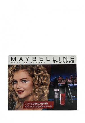 Набор косметики Maybelline New York. Цвет: разноцветный