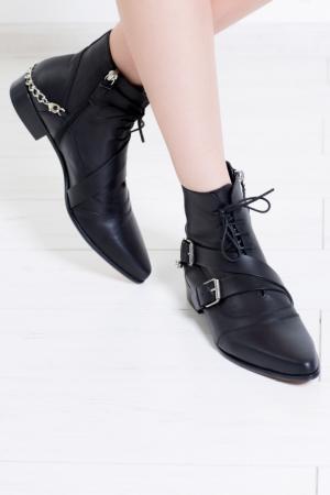 Кожаные ботинки Bryon Tabitha Simmons. Цвет: черный