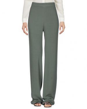 Повседневные брюки PINK MEMORIES. Цвет: зеленый-милитари