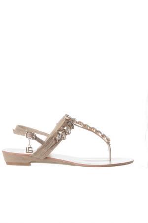 Sandals Laura Biagiotti. Цвет: beige