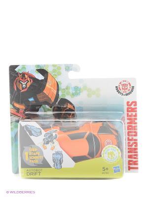 Трансформеры Роботс-ин-Дисгайс Уан-Стэп Transformers. Цвет: оранжевый, прозрачный