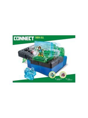 Научный опыт Футбольная лихорадка со светом, на батарейках, в коробке Amazing Toys. Цвет: зеленый, темно-серый, синий