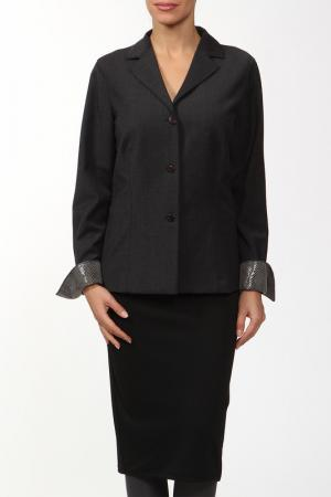 Пиджак Marly's. Цвет: серый