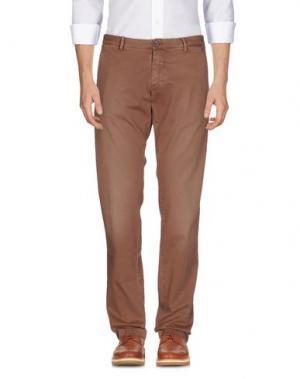 Повседневные брюки NICHOL JUDD. Цвет: какао