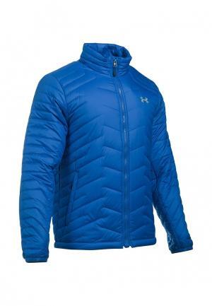 Куртка утепленная Under Armour. Цвет: синий