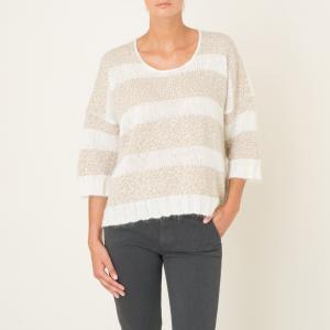 Пуловер TOUCAN HARRIS WILSON. Цвет: экрю