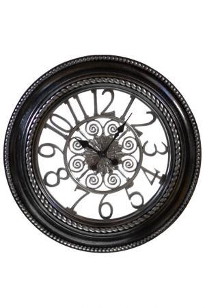 Часы настенные Garda Decor. Цвет: черный
