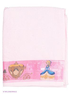 Полотенце Золушка Непоседа. Цвет: розовый