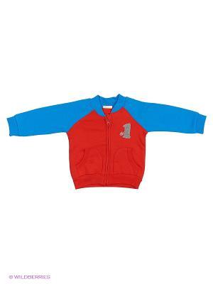 Кардиган United Colors of Benetton. Цвет: синий, красный