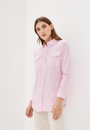Рубашка QED London. Цвет: розовый