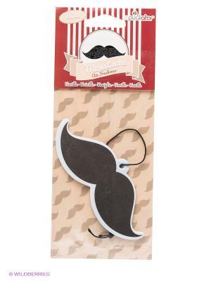 Освежитель воздуха Vanilla Moustache Kawaii Factory. Цвет: черный