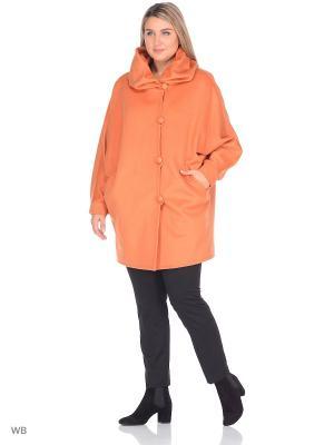 Пальто Gamelia. Цвет: светло-оранжевый