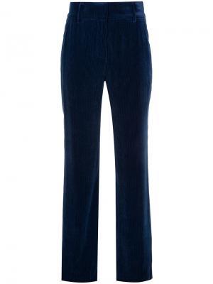 Прямые брюки Sies Marjan. Цвет: синий
