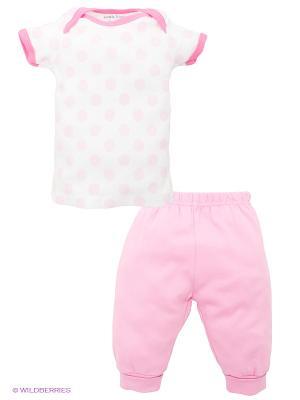 Комплект Luvable Friends. Цвет: розовый, белый