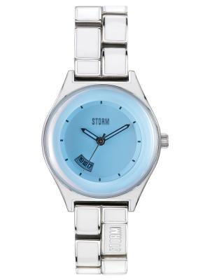 Часы MINILAZERICEBLUE47164/IB Storm.. Цвет: голубой, белый