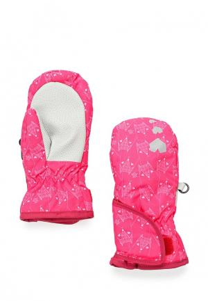 Варежки Regatta. Цвет: розовый