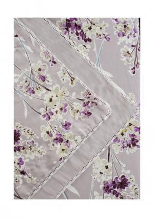 Комплект постельного белья Семейный Bellehome. Цвет: серый