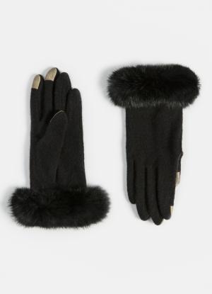 Шерстяные перчатки touch screen OSTIN