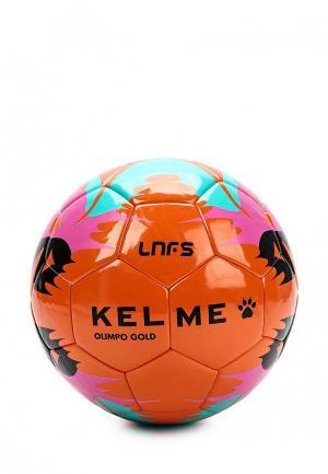 Мяч футбольный Kelme. Цвет: оранжевый