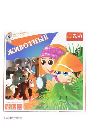 Настольная игра Животные Trefl. Цвет: зеленый