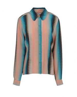 Pубашка JONATHAN SAUNDERS. Цвет: бирюзовый