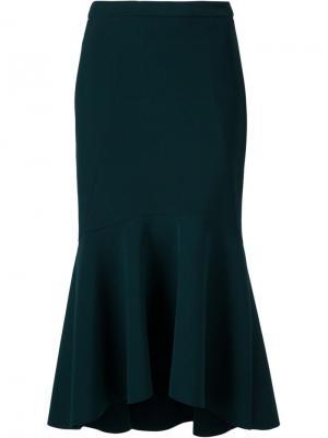 Расклешенная юбка Bravado Rebecca Vallance. Цвет: зелёный