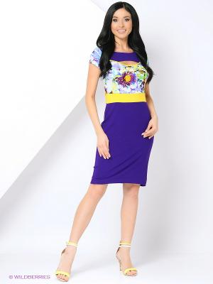 Платье Cariba. Цвет: фиолетовый