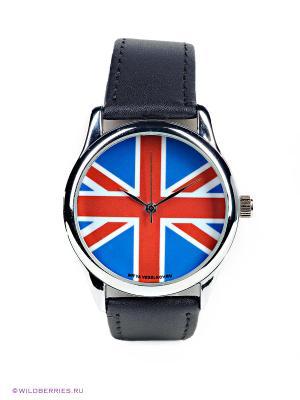 Часы Mitya Veselkov. Цвет: черный, синий, красный