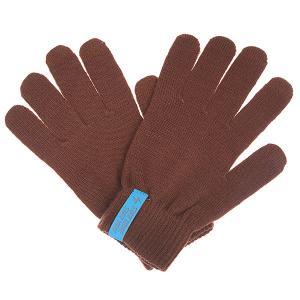 Перчатки  Touch Glove Aubergine TrueSpin. Цвет: коричневый