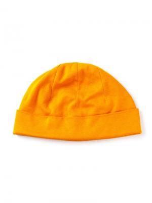 Шапочка бини Biba Vintage. Цвет: жёлтый и оранжевый