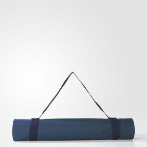 Коврик для йоги  by Stella McCartney adidas. Цвет: синий