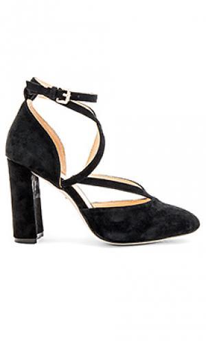 Туфли на каблуке isla RAYE. Цвет: черный