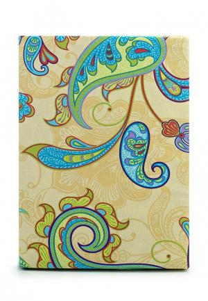 Комплект постельного белья 2-спальный Хлопковый Край. Цвет: зеленый