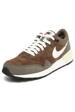 Кроссовки Nike. Цвет: серый, зеленый