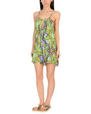 Пляжное платье MISS BIKINI. Цвет: кислотно-зеленый