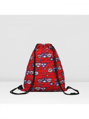 Мешок для обуви А М Дизайн. Цвет: синий, красный