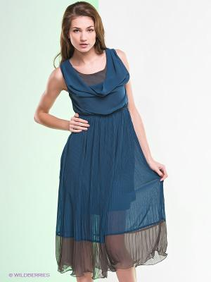 Платье Ya Los Angeles. Цвет: морскаяволна