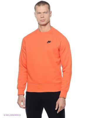 Свитшот Nike. Цвет: оранжевый