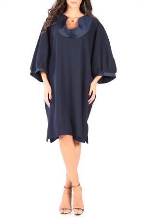 Платье CARLA BY ROZARANCIO. Цвет: navy
