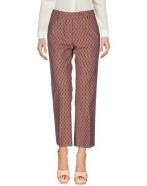 Повседневные брюки ROOM 52. Цвет: пастельно-розовый