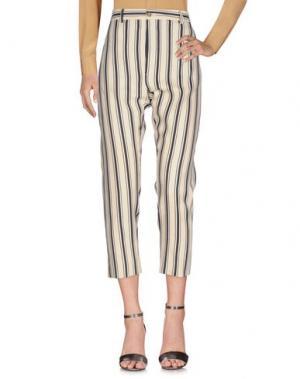 Повседневные брюки TRUE TRADITION. Цвет: слоновая кость