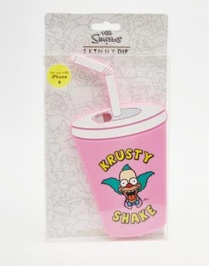 Skinnydip Чехол для iPhone 6 x Simpsons Krusty Shake. Цвет: мульти