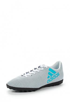 Шиповки adidas Performance. Цвет: серый