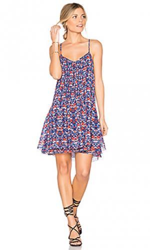 Платье spring fling Sanctuary. Цвет: синий