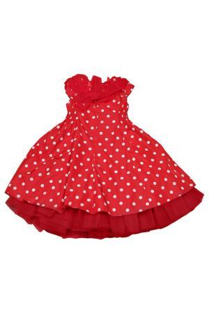 Платье Banino. Цвет: красный