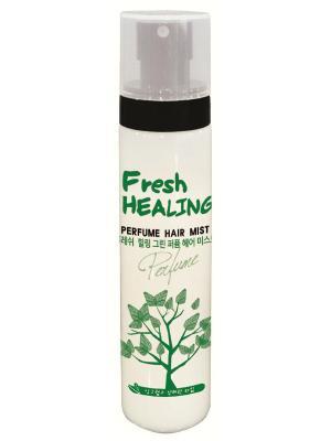 Парфюмированный спрей для волос  Fresh Healing Green 115 ml Bosnic. Цвет: светло-зеленый