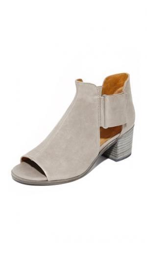 Ботильоны с Zephrya открытым мыском Coclico Shoes. Цвет: оксид elephant